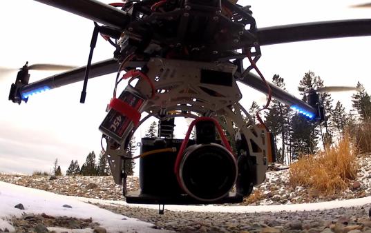 sony nex-7 helicopter hexacopter uav