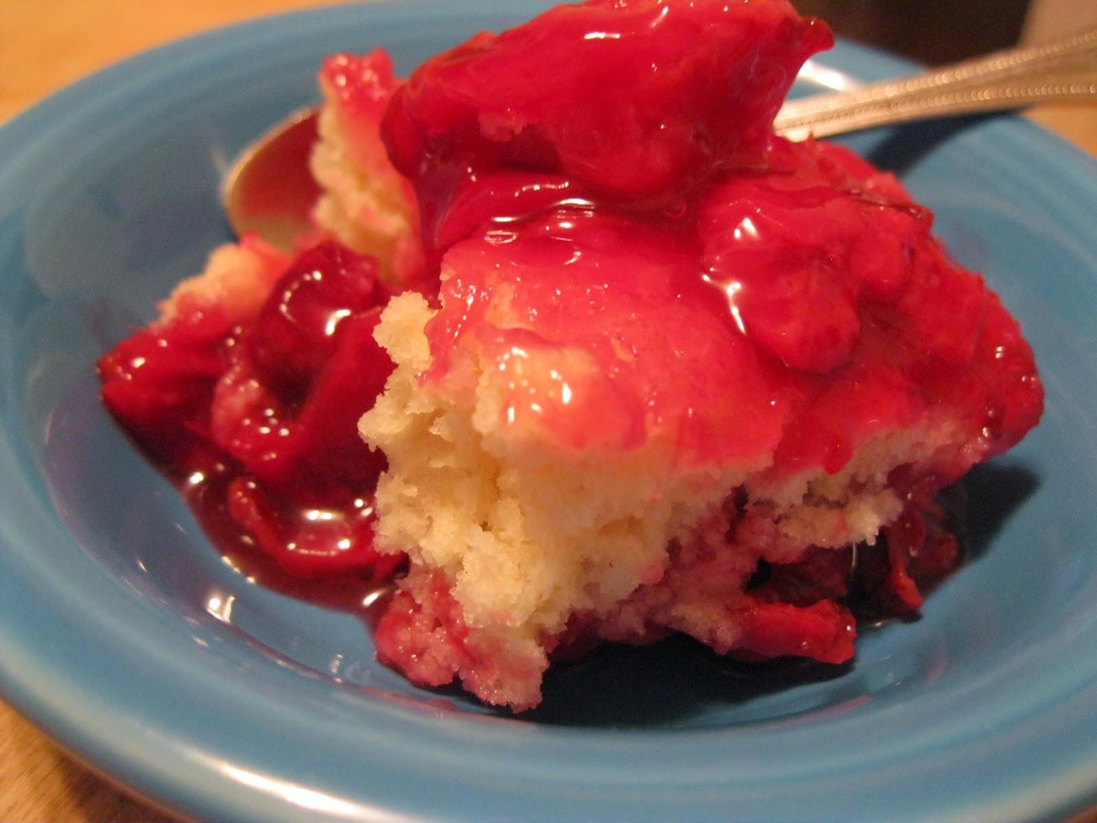 Apron History: Cherry Cobbler