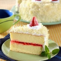 kue strawberry kerju