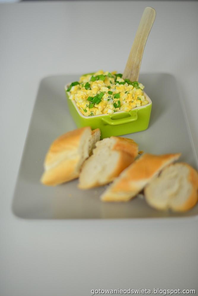 Pasta jajeczna na śniadanie
