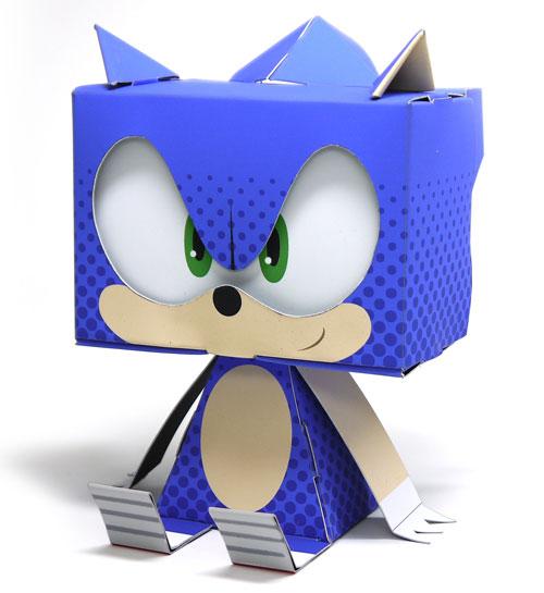 Sonic the Hedgehog de papel ofício já disponivel para pré-encomenda