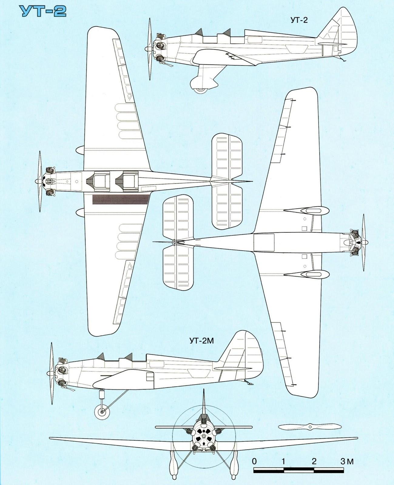 Тактико-технические характеристики УТ-2