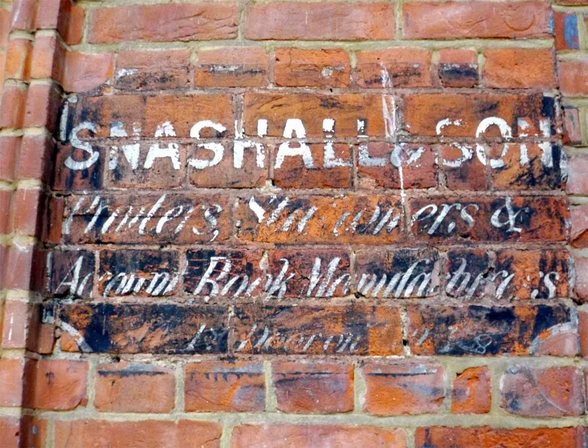 snashall and son ghost sign kings wardrobe london