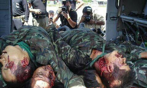 Gambar askar Malaysia yang terbunuh di lahad datu - Harap pertempuran ini dapat dihentikan serta merta dan kepada pihak malaysia tolong jangan bagi muka