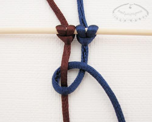 Słupek z węzłów łańcuszkowych - 2