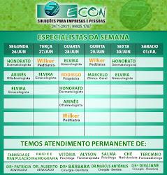 AGENDA ECON DE 26 Á 30 DE JUNHO