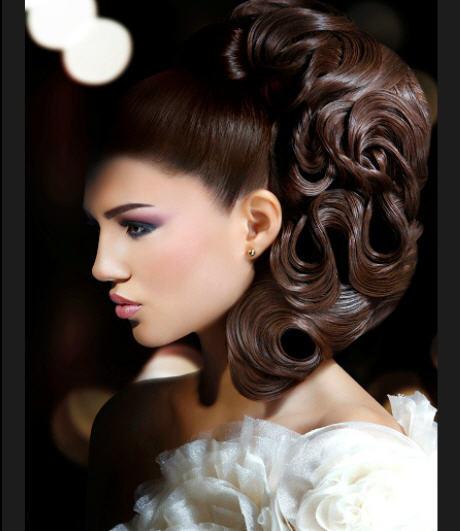 بالصورأجمل تسريحات شعر راني العلم شتاء 2013