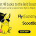 "Asia Deals: Fly Scoot offers ""Low Cost prices"" to Gold Coast (Australia), prices from USD 38"