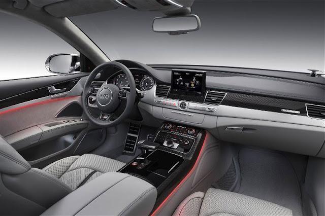2013 Audi S8 Sedan Front Interior