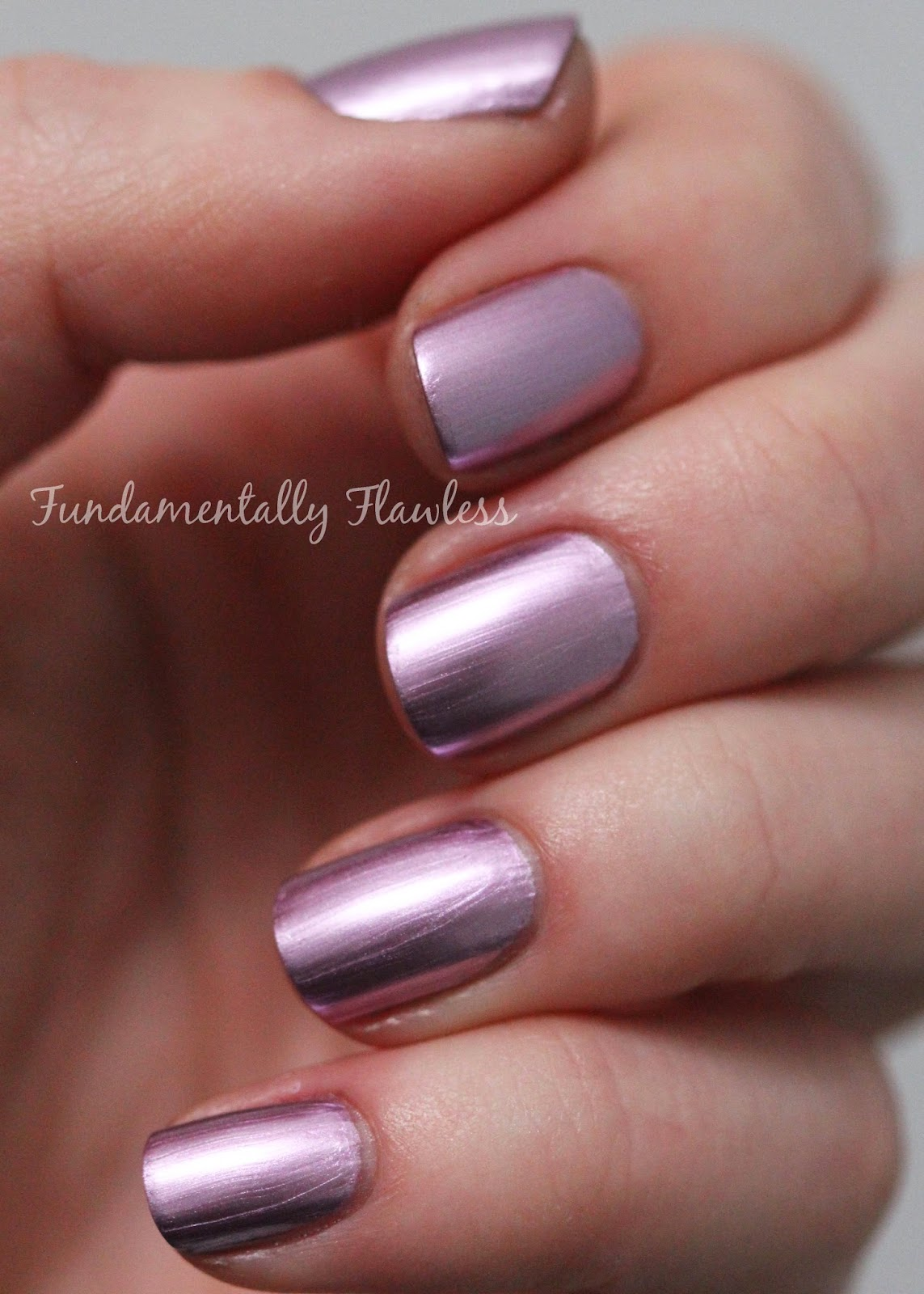 Models Own Colour Chrome Collection Pink Swatch