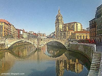 jarban02_pic067: Puente e Iglesia de San Antón (siglos XV-XVI)