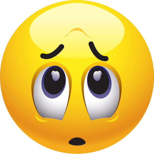 Worried Emoticon | Symbols & Emoticons