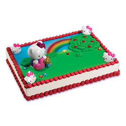 Hello Kitty discount birthday party cake decoration kit