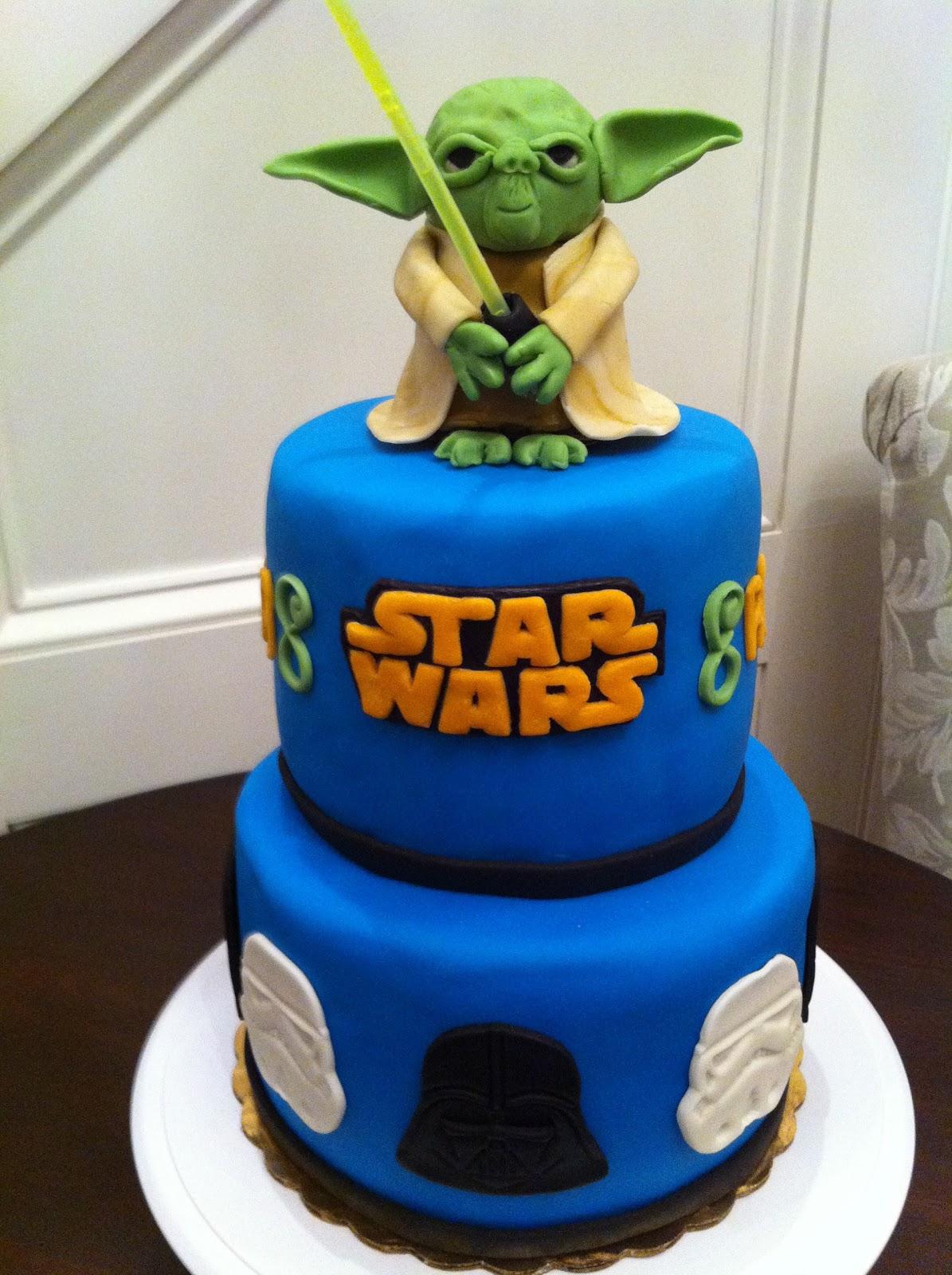 Yoda Cake The Charitable Baker