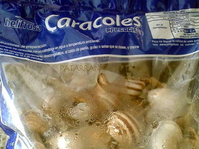 Caracoles a la Aragonesa