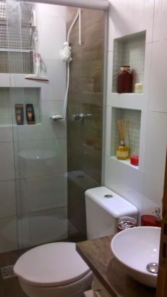 Dicas para reforma de banheiro pratica, rapida, economica e moderna  Casa e  -> Reformar Banheiro Pequeno Quanto Custa
