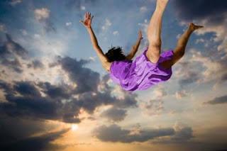 sonhar que esta voando