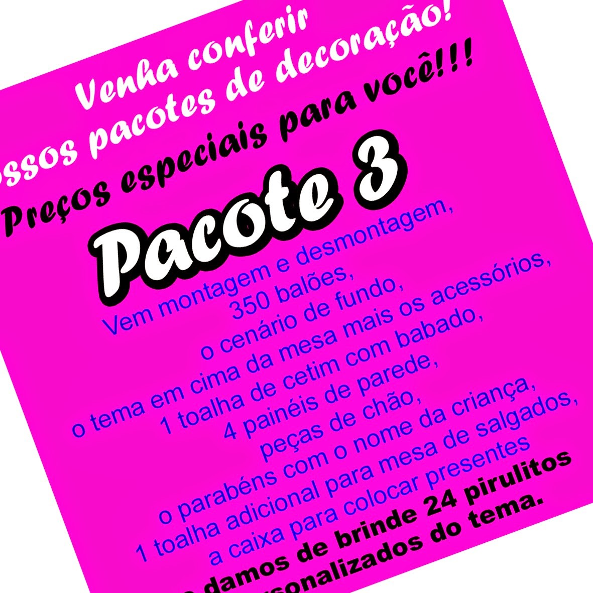 Pacote 3