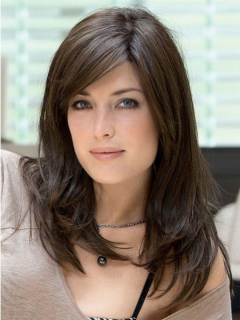 2015 Medium Hairscuts for Round Faces for Women-Long,Party,Wedding,Stylish,Hairstyles 2016 ...