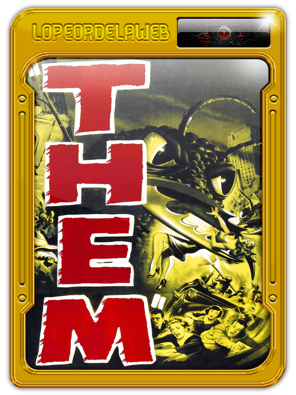 Them! (1954) (Cine Clásico) [BrRip-720p-Mega]