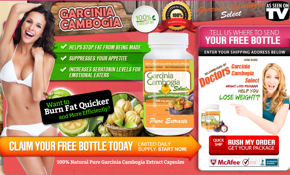 pure garcinia cambogia hca extract - Recommended by Dr Oz for Weight ...
