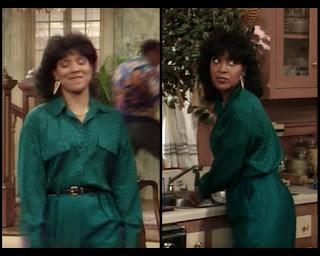 Cosby Show Huxtable fashion blog 80s sitcom Clair Phylicia Rashad