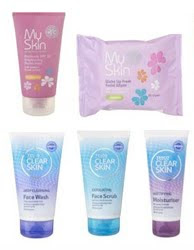 Tesco relaunches Clear Skin and My Skin ranges