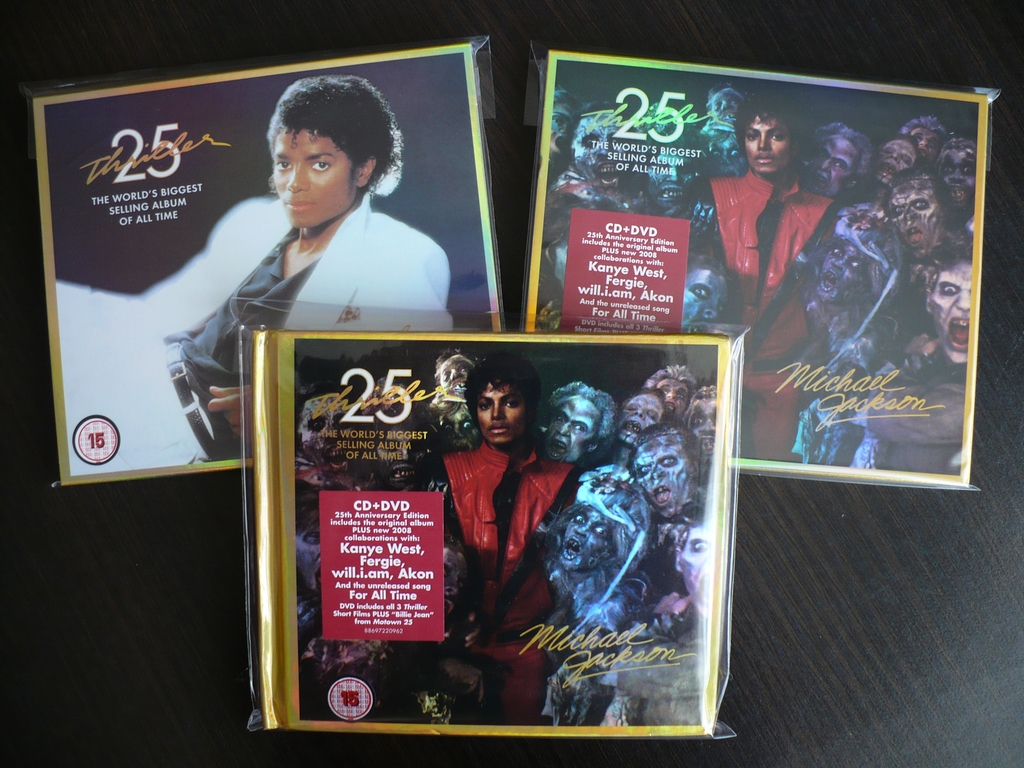 Michael Jackson Thriller 25
