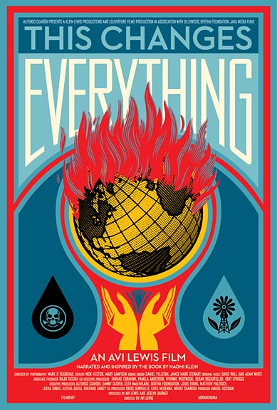 "Green Film Series: ""This Changes Everything"" Jan. 18"