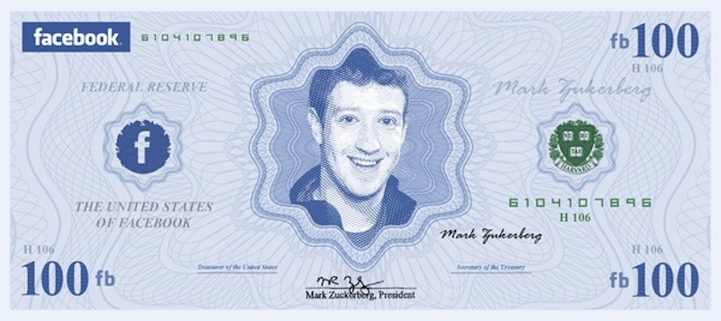 Zuckerberg announced that he would give up the salary, by reducing it to one dollar symbolic
