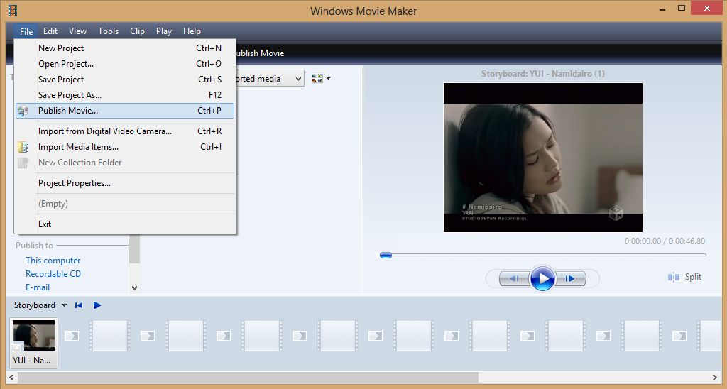 Cara Memotong Video Dengan Windows Movi Maker 6