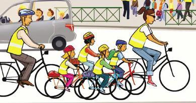 Bordeaux cycle chic c 39 est la rentree soyez chics - Cycliste dessin ...