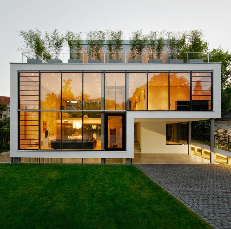 Greenhouse Minimalist Architecture Idea Troondinterior