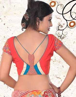 Latest Indian Saree Blouse 2012 Neck Patterns | Site For Joy