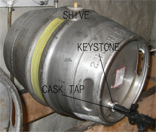 How to settle cask beer