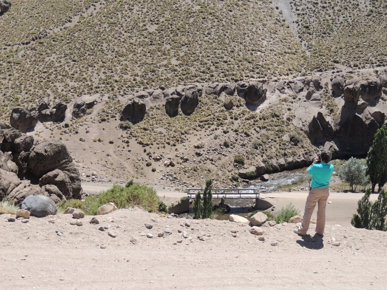 Vale no Caminho do Vulcão Domuyo