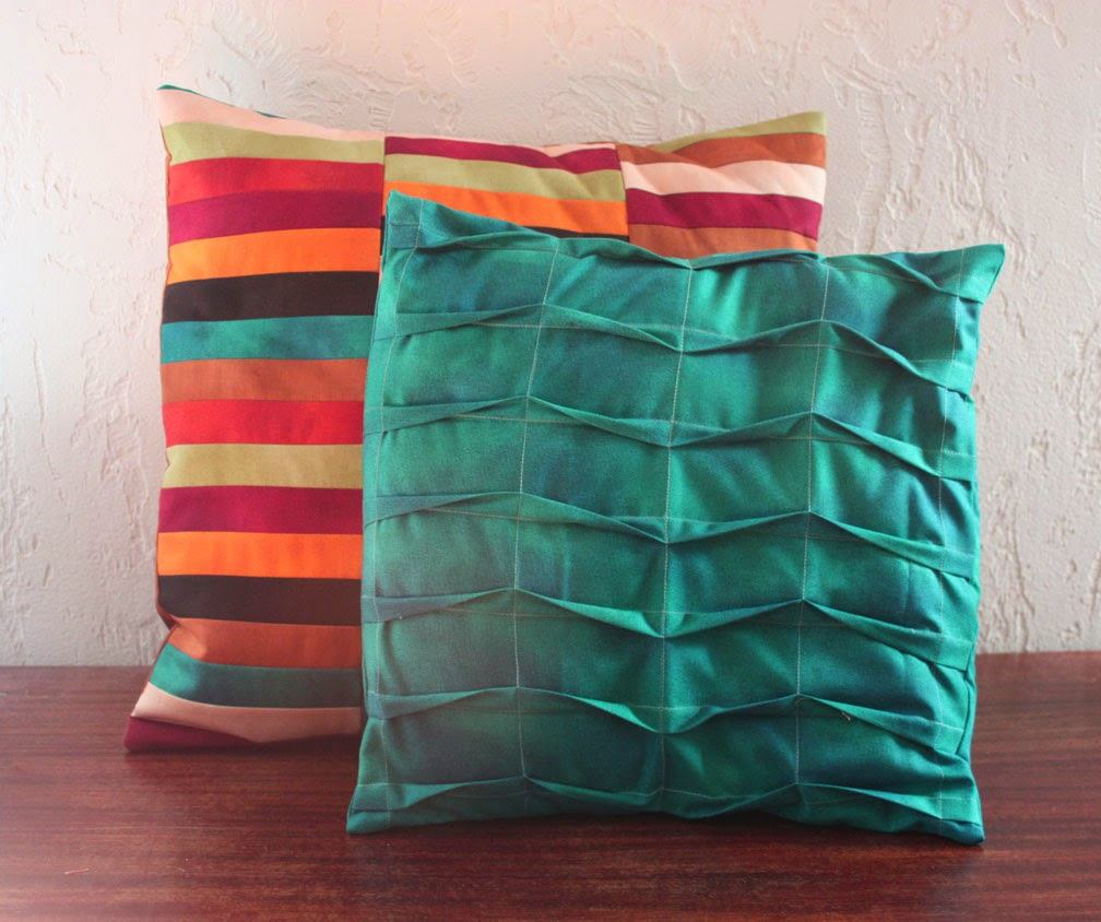 how to make a pillow with batting