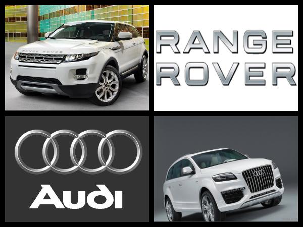 versus range rover evoque audi q7 2012 today motor. Black Bedroom Furniture Sets. Home Design Ideas