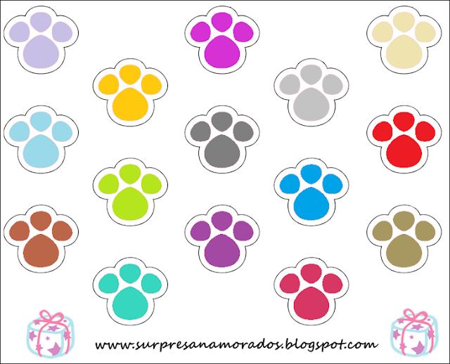 pegadinhas coloridas de coelho da páscoa 2013