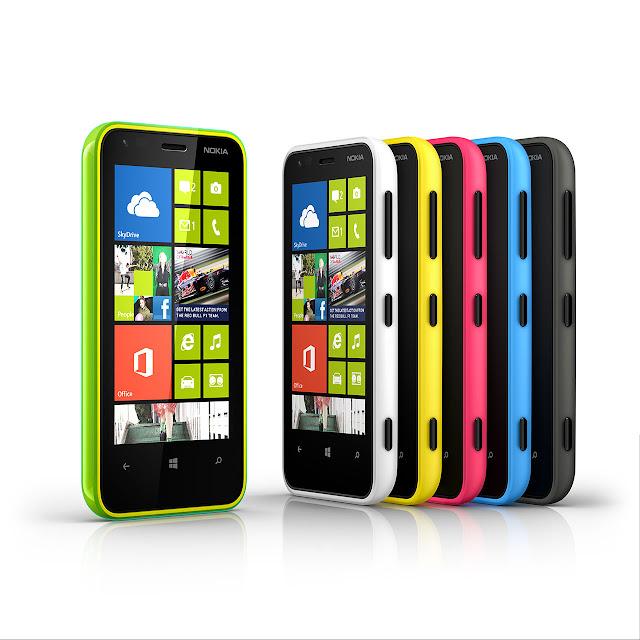 Nokia Lumia 620 colors