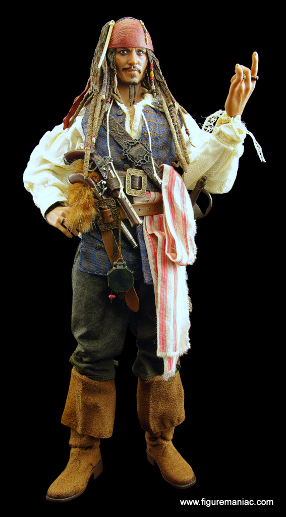 Pirates Of The Caribbean Toys : Hot toys pirates of the caribbean dx jack sparrow part