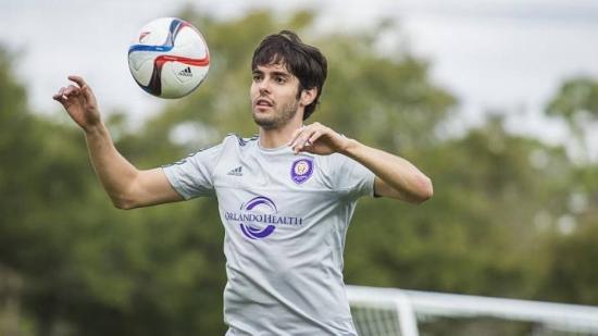 Kaká passou seis meses no São Paulo antes de ir para o Orlando City