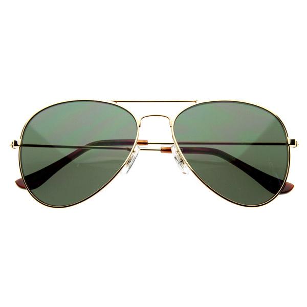 New Original Classic Full Metal Military Frame Aviators Aviator Sunglasses 1041
