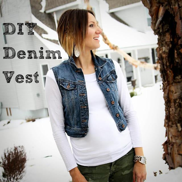 DIY Denim Vest