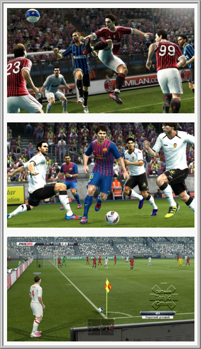 Screen Shots PES 2013