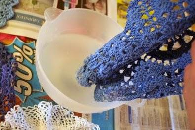 DIY: Lámpara a Crochet Paso 1