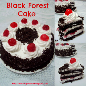 Untuk Tempahan : Black Forest Cake
