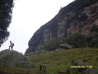 Saída de campo intitulada Biologia dos Campos Gerais - Visita ao Canyon Guartelá FOTO: BORSATO A.