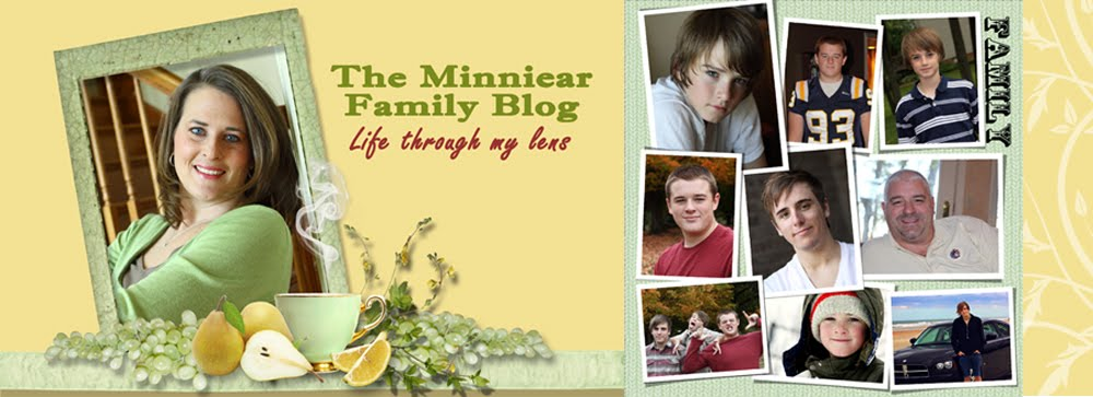 The Minniear Family Blog