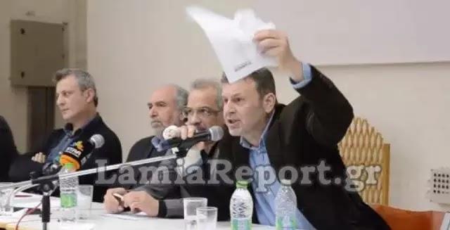Χαμός για τους πρόσφυγες – Ζητούν δημοψήφισμα οι κάτοικοι της Στυλίδας (βίντεο)